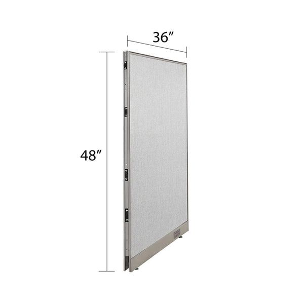 GOF Single Full Fabric Office Partition<br>36w x 48h - Kainosbuy.com