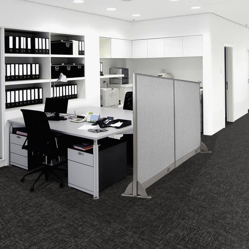 GOF Freestanding Office Partition<BR>102W x 48H - Kainosbuy.com