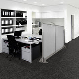 GOF Freestanding Office Partition  144W x 72H - Kainosbuy.com