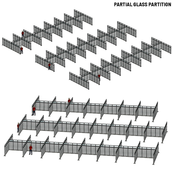 [Custom Order 001] GOF Partial Office Partition - Kainosbuy.com