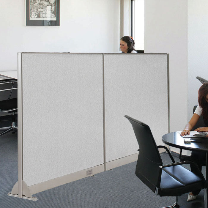 GOF Wallmounted Office Partition<BR>72W x 48H - Kainosbuy.com