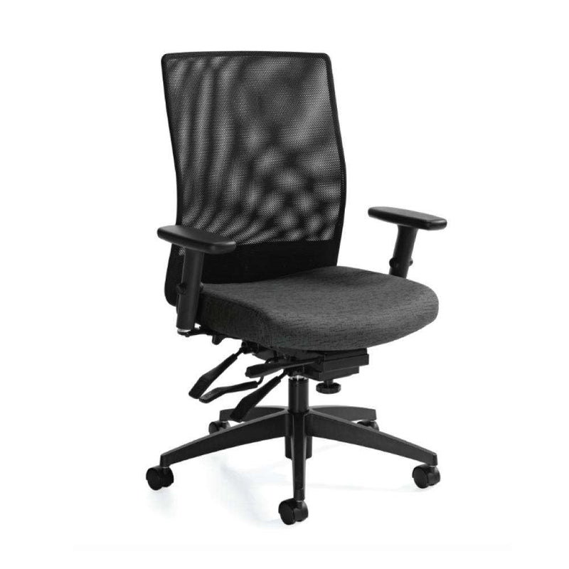 Weev Mesh Medium Back Multi-tilter Chair - Kainosbuy.com