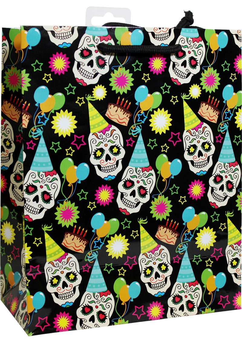 SUGAR SKULL BIRTHDAY PARTY GIFT BAG