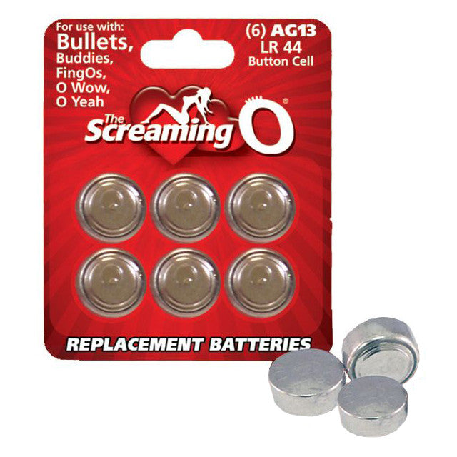 Screaming O: AG13 Battery (6)