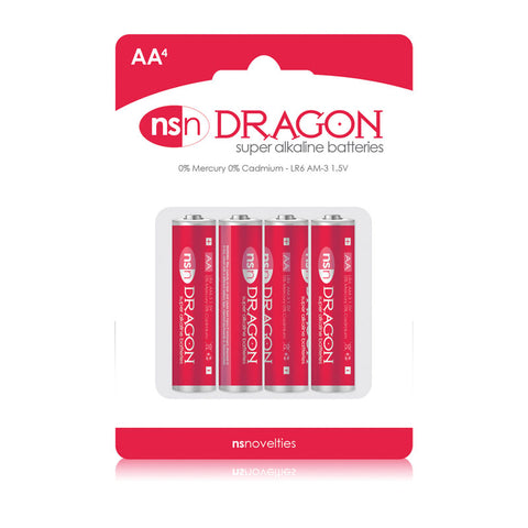 DRAGON ALKALINE AA BATTERIES