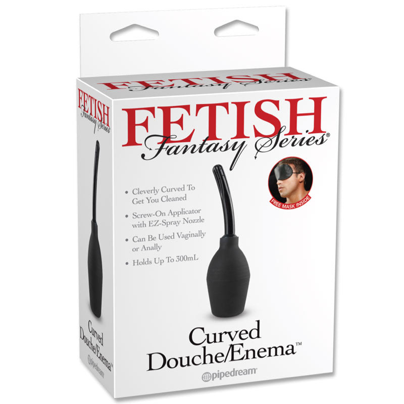Fetish Fantasy Curved Douche/Enema