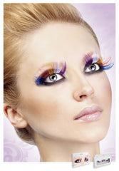 Multi-Colored Glitter Eyelashes