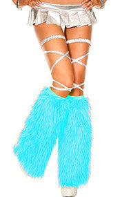Rave Yeti Boot or Leg Warmer (Turquoise)