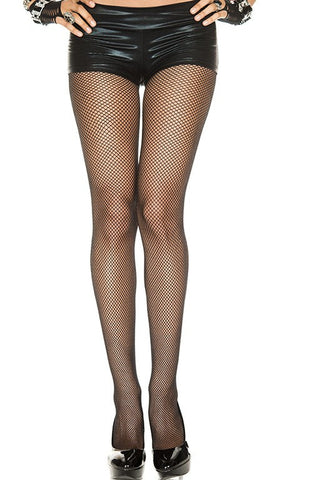 Fishnet Seamless Pantyhose Plus Size
