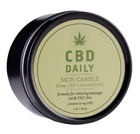 CBD DAILY SKIN CANDLE 3N1 5 OZ