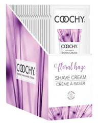 COOCHY SHAVE CREAM FLORAL HAZE FOIL 15 ML