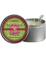 EARTHLY BODY CANDLE 3 IN 1 GUAVALAVA