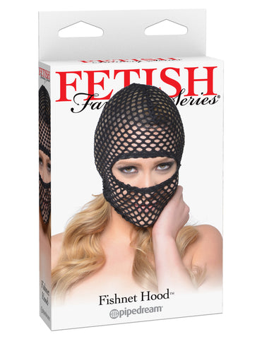 Fetish Fantasy Fishnet Hood