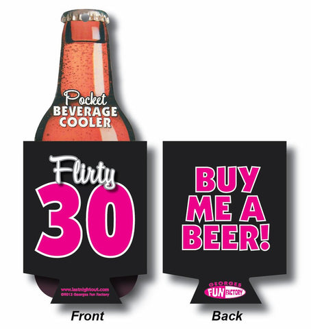 Flirty 30 Beer Coolie