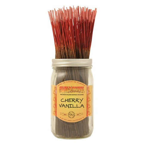 Wildberry Cherry Vanilla Incense (3 sticks)