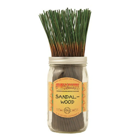 Wildberry Sandalwood Incense (3 sticks)