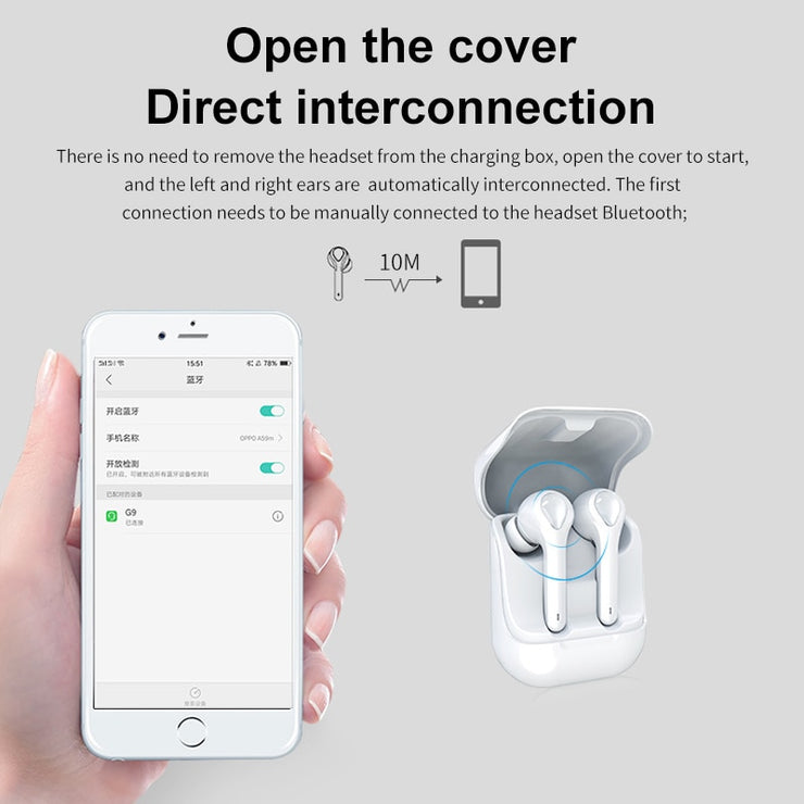 Mini Touch Wireless Earbuds - GrabGoPay