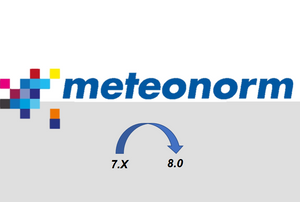 Upgrade Meteonorm V 7.X  to Meteonorm 8.0