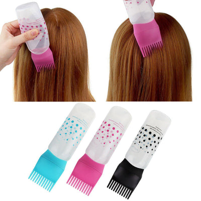 Oil Comb Applicator Bottles - The Detangling Brush