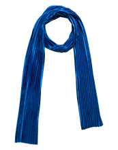 Load image into Gallery viewer, COBALT VELVET SCARF