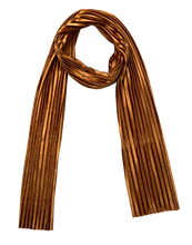 Load image into Gallery viewer, BRONZE VELVET SCARF
