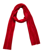 Load image into Gallery viewer, Ruby Velvet Scarf