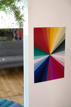 Load image into Gallery viewer, CHROMA WALL PRINT 11x17""