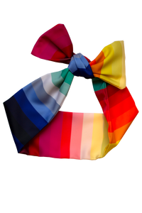 CHROMA STRIPE HEADSCARF/CRAVAT