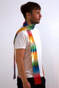 OPTICK RIBBON SCARF