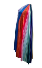 Load image into Gallery viewer, REVERSIBLE PRISM VELVET MIDI DRESS