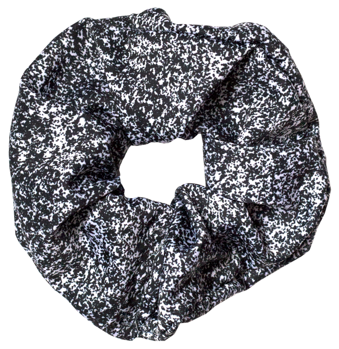 SPECKLED SATIN SCRUNCHIE