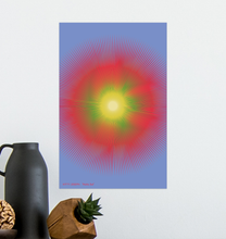 Load image into Gallery viewer, HALŌS SOL WALL PRINT 11x17""