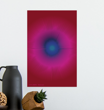 Load image into Gallery viewer, HALŌS LUNA WALL PRINT 11x17""
