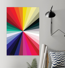 Load image into Gallery viewer, CHROMA WALL PRINT 16x24""