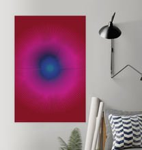 Load image into Gallery viewer, HALŌS LUNA WALL PRINT 24x36""