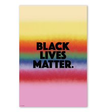 Load image into Gallery viewer, BLACK LIVES MATTER WALL PRINT 24x36""