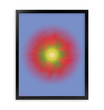Load image into Gallery viewer, HALŌS SOL FRAMED PRINT 16x20""