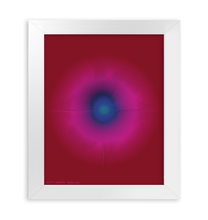 Load image into Gallery viewer, HALŌS LUNA FRAMED PRINT 8x10""