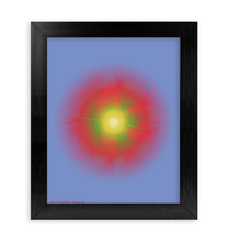 Load image into Gallery viewer, HALŌS SOL FRAMED PRINT 8x10""
