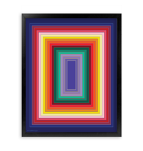 Load image into Gallery viewer, MYRIAD FRAMED PRINT 16x20""