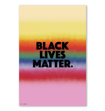 Load image into Gallery viewer, BLACK LIVES MATTER WALL PRINT 16x24""