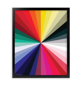 CHROMA FRAMED PRINT 16x20""