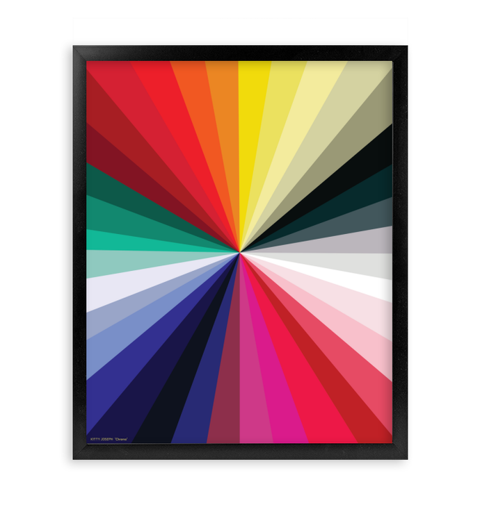 CHROMA FRAMED PRINT 16x20