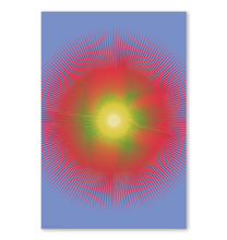 Load image into Gallery viewer, HALŌS SOL WALL PRINT 24x36""