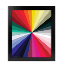 Load image into Gallery viewer, CHROMA FRAMED PRINT 11x14""