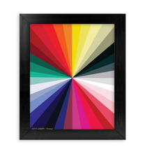 Load image into Gallery viewer, CHROMA FRAMED PRINT 8x10""