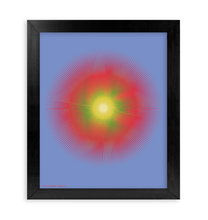 Load image into Gallery viewer, HALŌS SOL FRAMED PRINT 11x14""