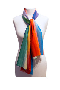 SOLIS STRIPE LONG SCARF