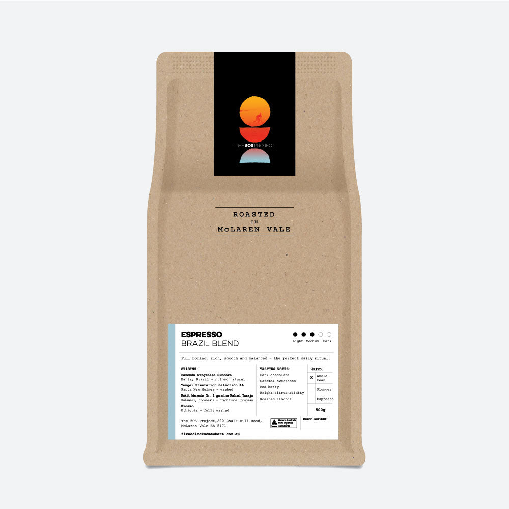 The 5OS Project Espresso Brazil Blend