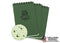 Rite In The Rain - [ Universal ] 3x5 Top Spiral with Polydura Cover Notebook [ Green ]